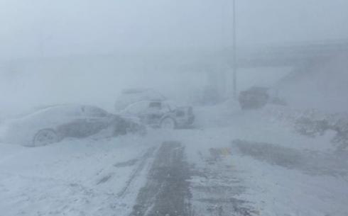 Какие трассы закрыты в Карагандинской области из-за погодных условий