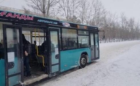 Сегодня в Караганде общественный транспорт будет работать согласно расписанию