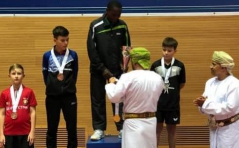 Юный карагандинский спортсмен вписал своё имя в историю мирового настольного тенниса