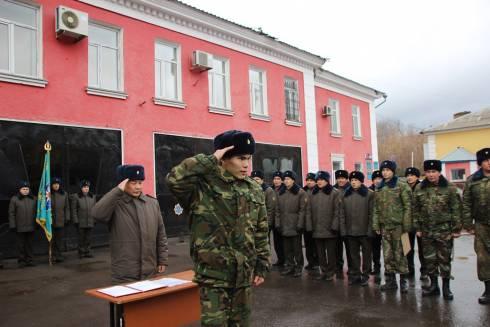 В канун Дня Спасателя в гарнизоне противопожарной службы прошла торжественная церемония принятия присяги