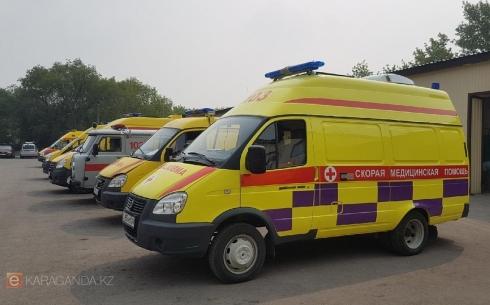 Количество вызовов скорой помощи не увеличилось в Караганде