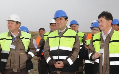 В Шетском районе Карагандинской области в тестовом режиме начал работать завод по производству катодной меди