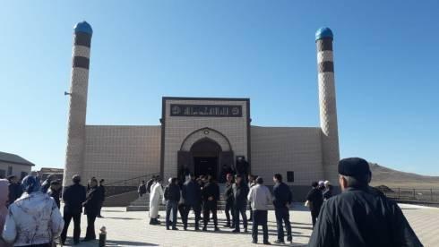 В Актогайском районе открылась новая мечеть