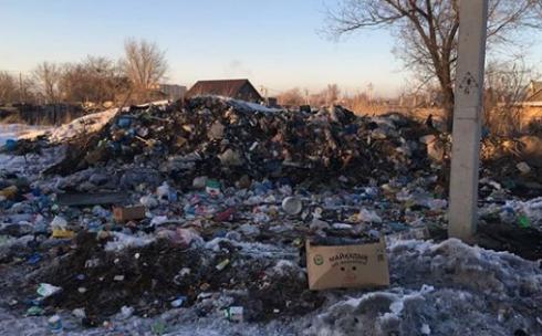 В Караганде ликвидируют несанкционированную свалку на улице Якутская