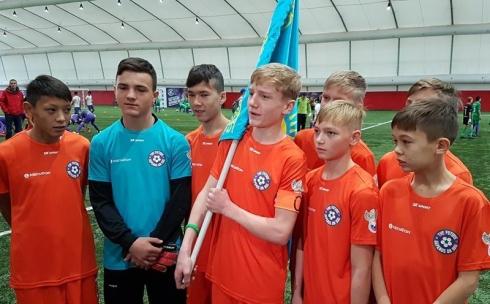 Карагандинская команда участвовала в футбольном турнире среди детей-сирот в Москве
