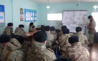 Личный состав офицеров и военнослужащих контрактной службы прибыли согласно расчетного времени.  14.01.2013.