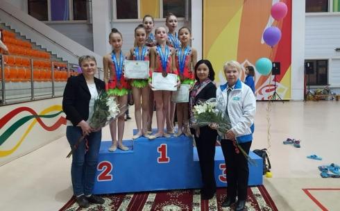 Карагандинские спортсменки заняли призовое место в республиканских соревнованиях по художественной гимнастике