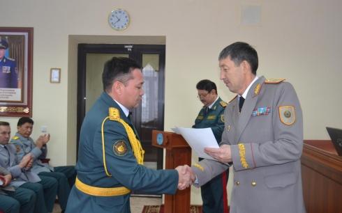 В Караганде был проведен «Урок Елбасы» с военнослужащими воинских частей Национальной гвардии