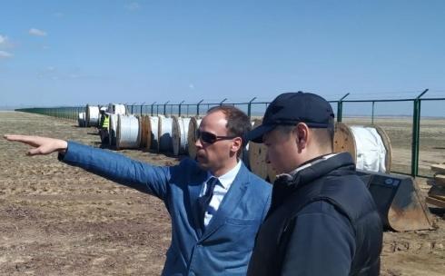 В Шетском районе Карагандинской области строительство солнечной электростанции завершится в июне