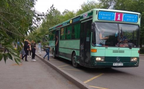 Возможно ли соблюдать дистанцию между пассажирами в автобусе в Карагандинской области