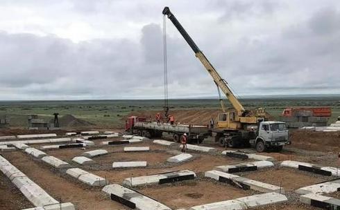 В Улытауском районе начали строить комплекс Жошы хана