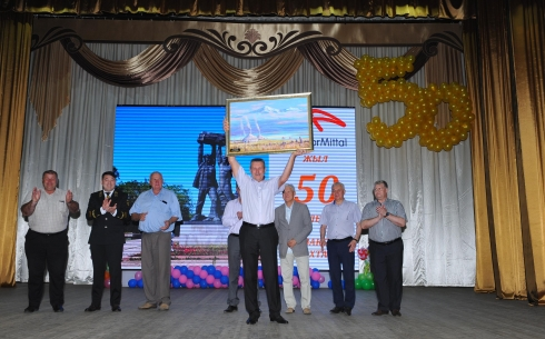 Шахта «Казахстанская» угольного департамента АО «АрселорМиттал Темиртау» отметила 50-летний юбилей