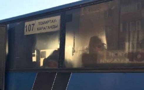 В Караганде назвали причины задержек автобусов №107