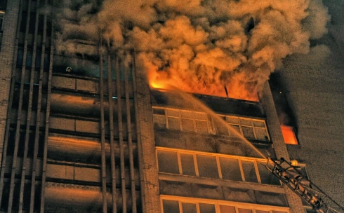 В Караганде пострадавших в пожаре детей выписали из больницы
