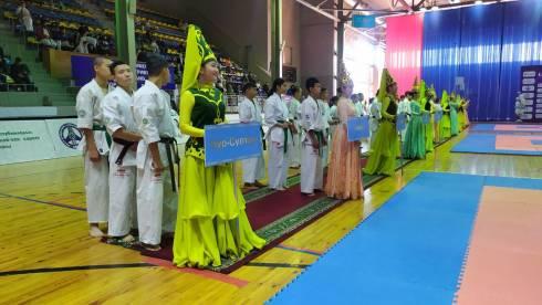 В Караганде состоялась церемония открытия чемпионата Республики Казахстан по киокушинкай-кан карате
