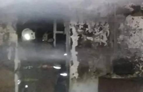 При пожаре погибли 90-летняя бабушка с внуком в Темиртау