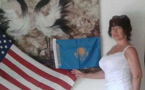 В США ознакомились с войлочным искусством карагандинской художницы