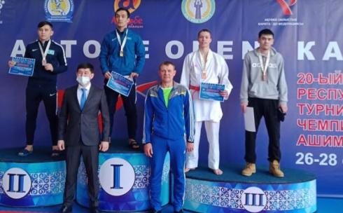 Карагандинские спортсмены выступили на Aktobe Open по Олимпийскому каратэ (WKF)