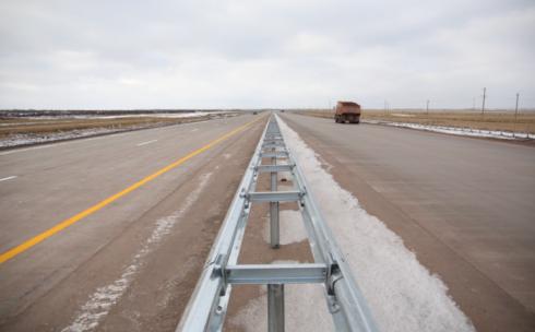 Трассу «Астана-Караганда» откроют до конца 2017 года