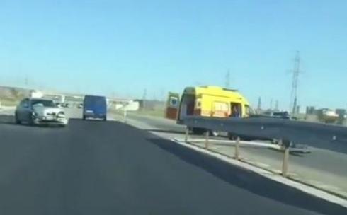 Двое человек пострадали в ДТП на трассе Караганда-Темиртау