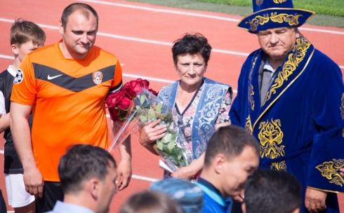 Видео церемонии завершения карьеры Андрея Финонченко