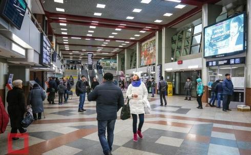 На железнодорожных вокзалах Казахстана вводится досмотр пассажиров и багажа