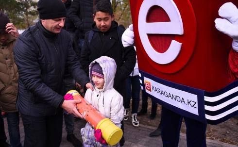 В Караганде состоялась акция «Капсула Времени»