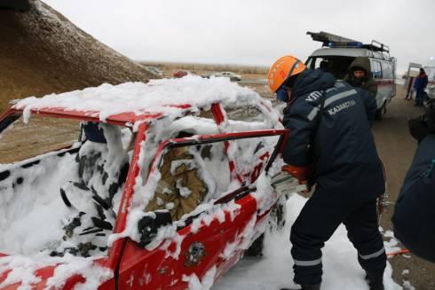 В Карагандинской области для ликвидации ЧС зимнего периода приведены в готовность свыше 3000 человек и 1200 техники