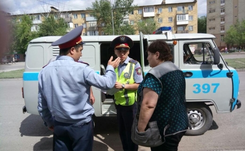 В Караганде за два дня выявлено 465 нарушений ПДД