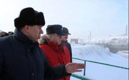 Божко обещает оградить население от последствий паводка в Карагандинской области