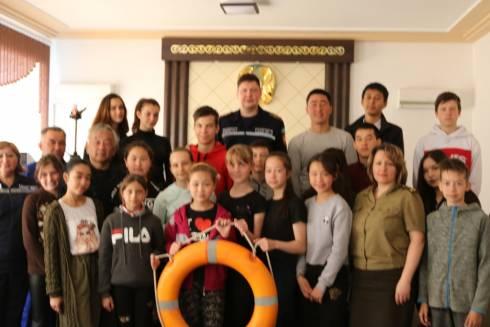 В ДЧС Карагандинской области проведен областной интерактивный урок