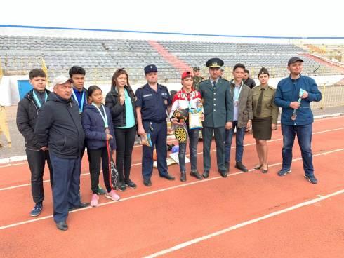 В Темиртау проведены соревнования среди юных спасателей
