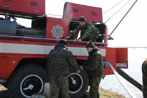 Свыше 1300 человек спасено карагандинскими спасателями
