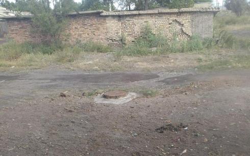 Многодетной семье в Карагандинской области решили вопрос с канализацией
