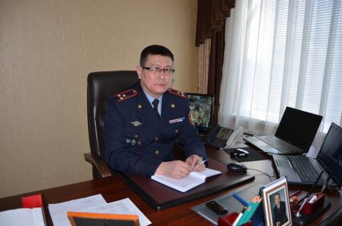 Назначен новый начальник департамента уголовно-исполнительной системы по Карагандинской области