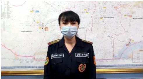 Об усилении ветра жителей Карагандинской области предупреждает ДЧС