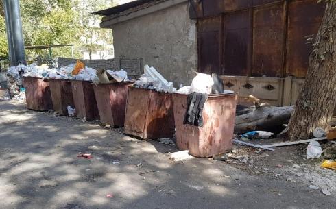 Почему в Караганде не асфальтируют мусорные площадки при благоустройстве дворов?