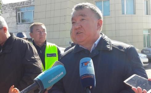 Подрядчик отремонтирует трассу Караганда-Темиртау за свой счет