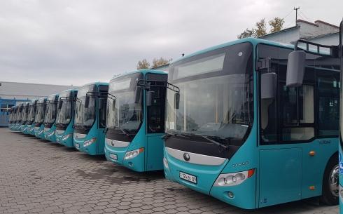 200 новых автобусов планируется приобрести в Караганде в 2020 году