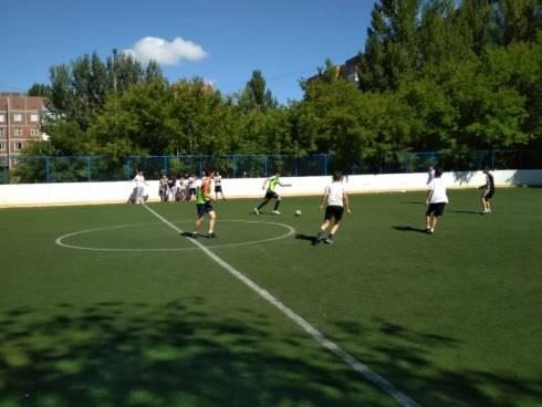 В Караганде стартовали проекты «Лига дворового футбола 2018» и «Лига дворового баскетбола 2018»