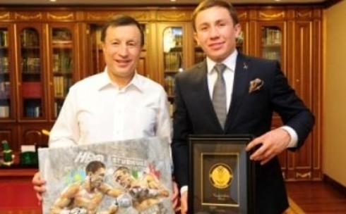 Аким Астаны предложил Головкину провести бой в столице Казахстана в 2015 году