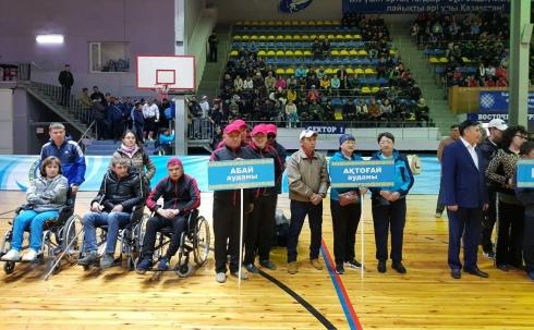 В Караганде проходит Спартакиада среди спортсменов-инвалидов