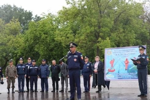 Команда «Жалын» стала победителем в областных соревнованиях «Юный спасатель»