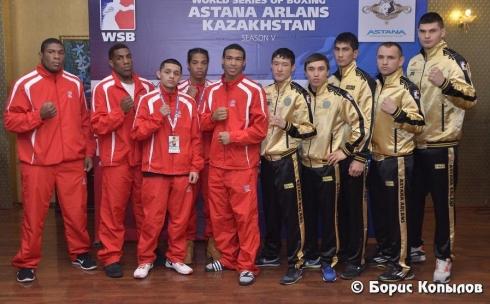 «Astana Arlans» одержал четвертую победу в сезоне WSB