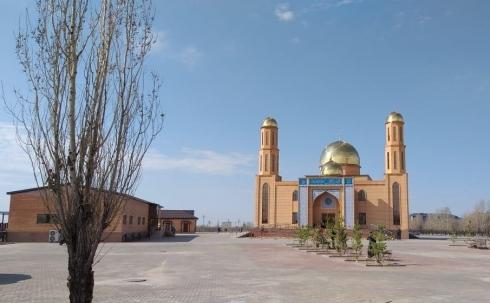 В поселке Жайрем открыли новую мечеть