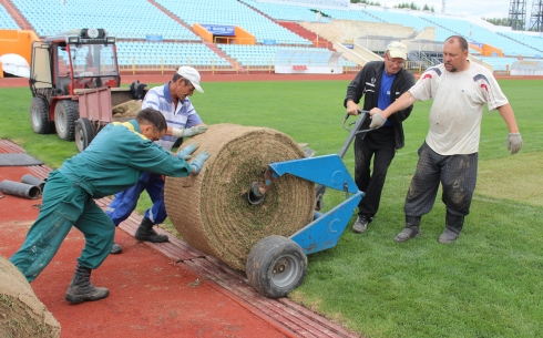В Караганде поле стадиона «Шахтер» приведут в порядок к 9 июня
