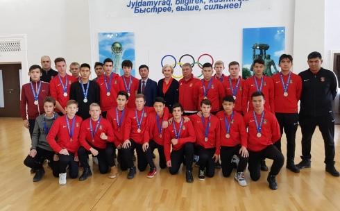 Карагандинские футболисты стали серебряными призерами кубка Казахстана