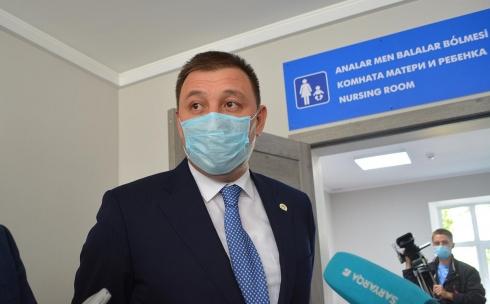 Аким Караганды рассказал о готовящейся реконструкции автовокзала
