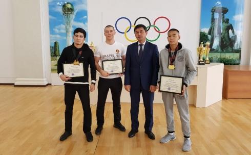 Карагандинские спортсмены достойно выступили на чемпионате Азии по грэпплингу