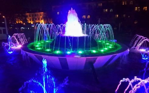 В Караганде запускают фонтаны